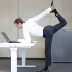 Benefits of standing up while you work