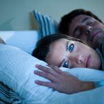 woman with insomnia istock photo