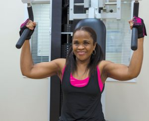 Career mother Marie Byrd started going to 20 Minutes to Fitness six years ago and raves about the results.