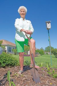 Dr. Ravi Sharma of Premier Vein Centers in Homosassa and The Villages treated Mary Jim Campbell for venous insufficiency using three minimally invasive procedures.