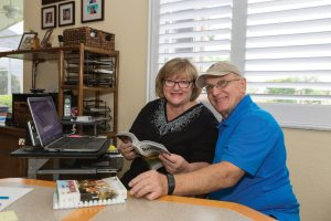Dennis and Karen Cianfrini both got hearing aids from Dr. Duran. In addition to improving their hearing, the hearing aids improve their relationship.