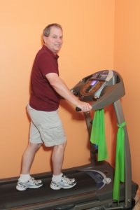 Dr. Aderholdt treated Ken Hoydic for back pain with VAX-D® therapy.