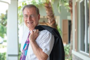 Richard C. Montz, DDS, of River City Dentistry in DeBary treated long-time patient Eugene Kowalski with restorative dentistry. Sidebar on how bottled water affects the teeth.