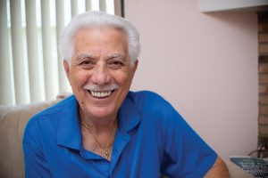 Frank Plastini turned to Dr. Patel when he needed to find a new dentist, and the result was a rapid restoration.