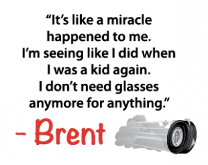 Brent Cole went to Dr. Kostick for his cataract surgery, and the outcome was miraculous.