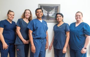 Dr. Patel's staff may be small, but it's dedicated and skilled, and it can tackle any dental care issue.