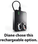 Diane Voigt is reaping the benefits of the advancements in technology available in Miracle-Ear®'s latest line of hearing aids.