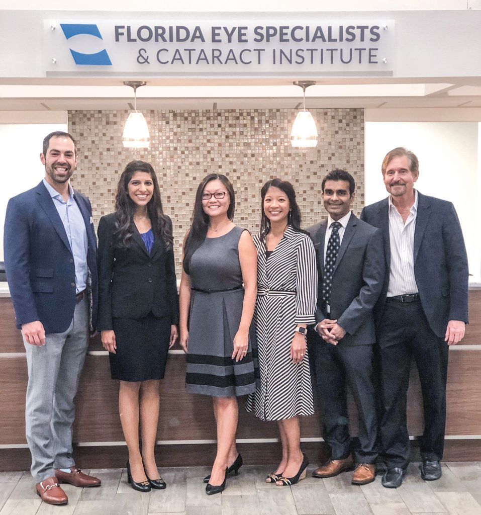 Staff photos courtesy of Florida Eye Specialists & Cataract Institute.