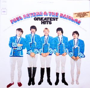 Paul Revere & the Raiders album cover courtesy of Sony Music Entertainment.